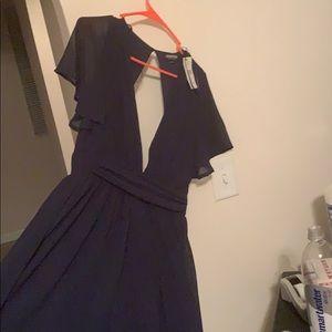Maxi overlay dress .